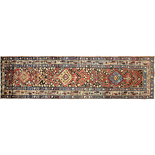 "Northwest Persian Runner, 3'6"" x 13'8"""