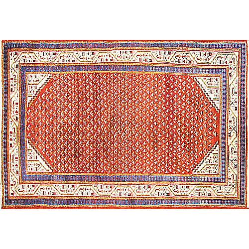 """Persian Mir Saraband Rug, 4'6"""" x 6'5"""""""