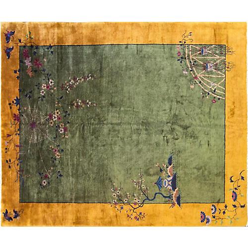 "Art Deco Carpet, 9'2"" x 11'4"""