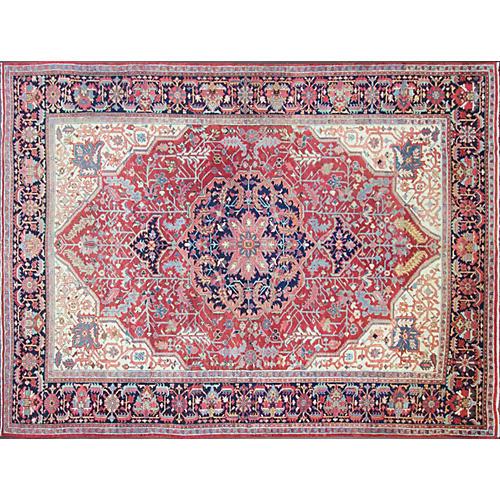 "Persian Serapi Carpet, 9'3"" x 12'1"""