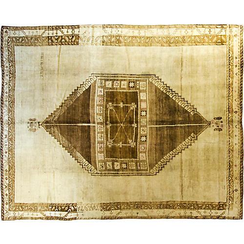 """10'4"""" x 13' Oushak carpet"""