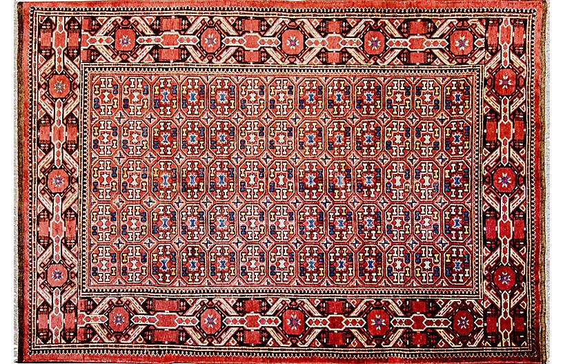Antique Turkman Beshir Rug, 6'10