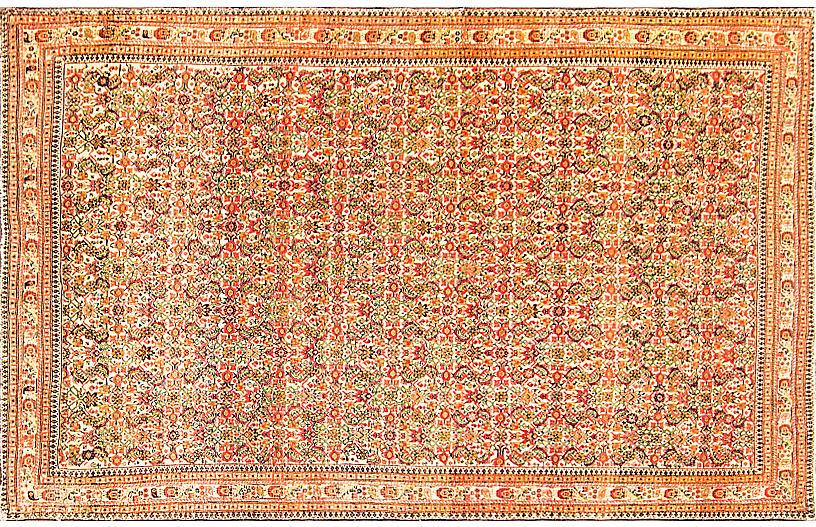 Antique Persian Sarouk Feraghan Rug