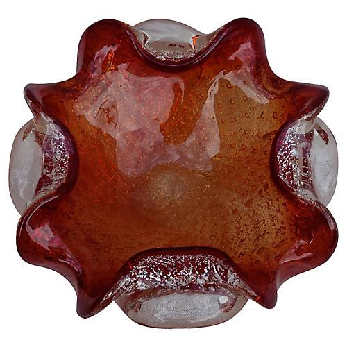 Italian Murano Glass Dish