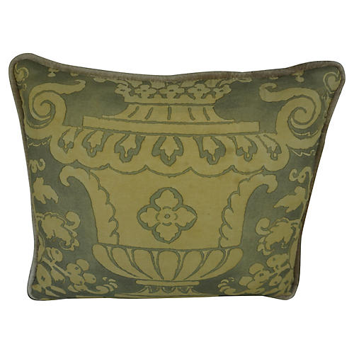 Custom Fortuny Accent Pillow