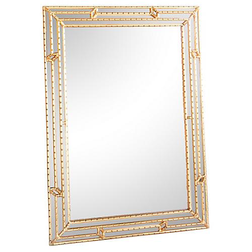 Italian Gilt Wall Mirror