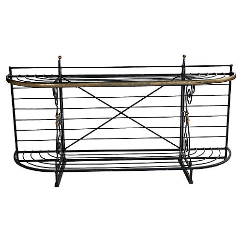 French Metal Baker's Rack