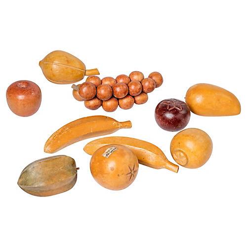 Wood Fruit, S/10