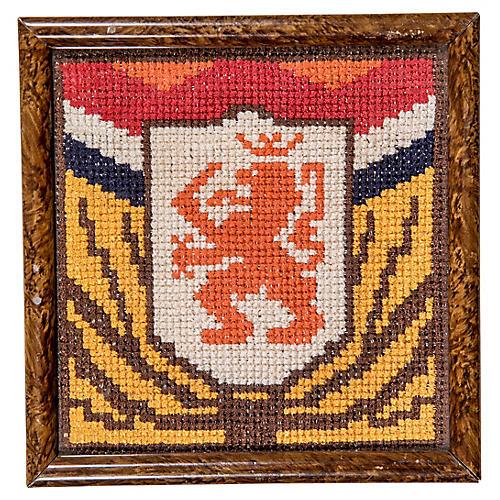 Dutch Coat of Arms Needlework