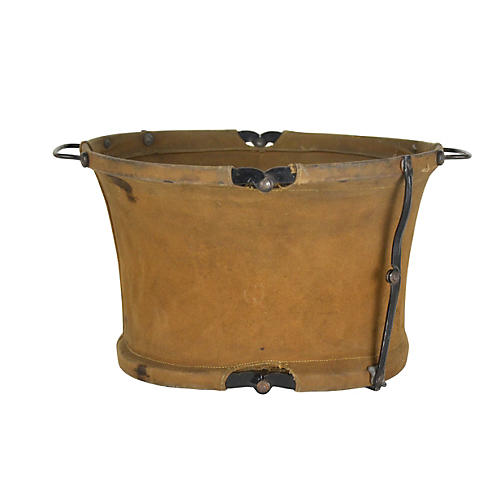 Canvas Military Collapsible Bucket