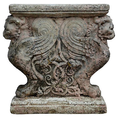 Italian Plaster Architectural Fragment