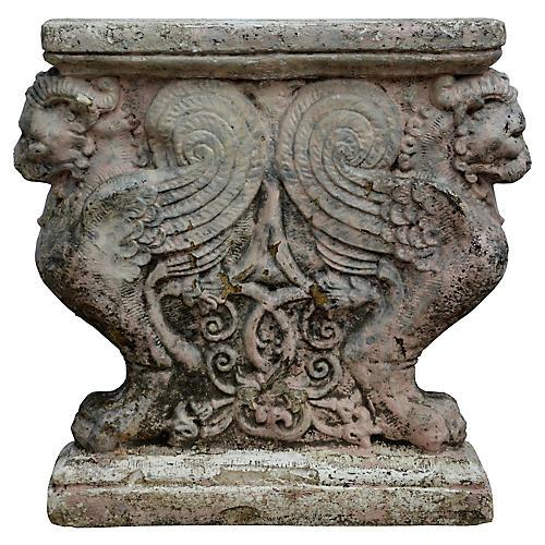 Italian Plaster Architectural Fragment