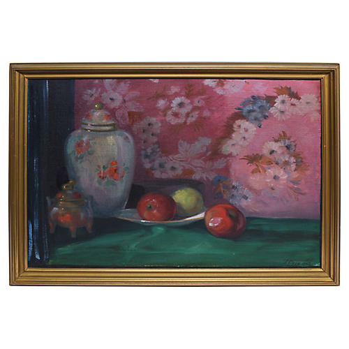 Fruit & Flower Still Life