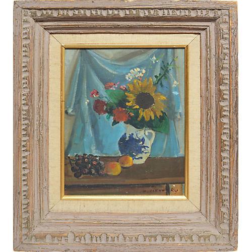 Sun Flower Still Life, Nicolai Cikovsky