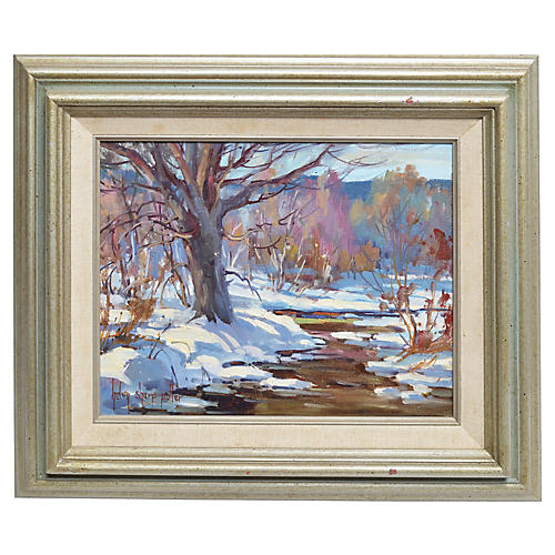 Winter Landscape by Helen Potter