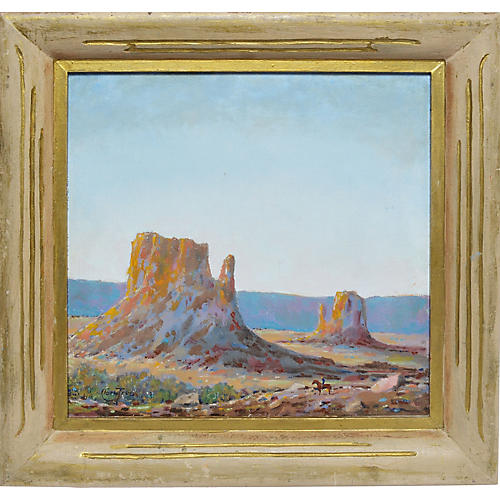 Western Landscape of Monument Valley