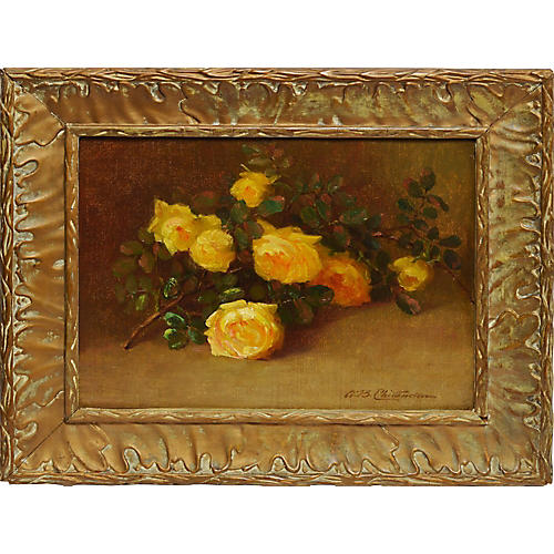 Yellow Roses by Alice Brown Chittenden