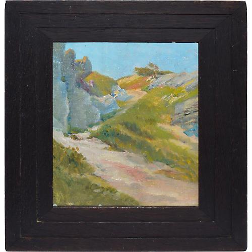 Impressionist Beach Seascape