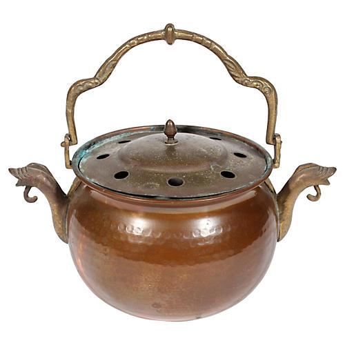 Brass & Copper Pot