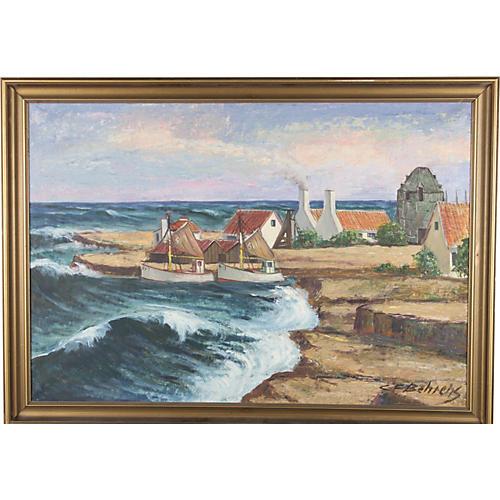 Summer Waves by C.F. Behrens
