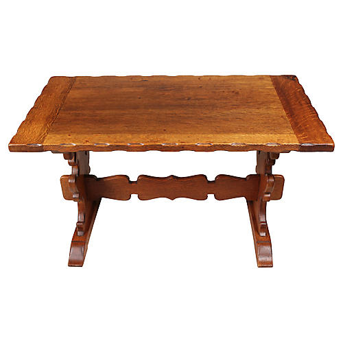 Bavarian-Style Coffee Table