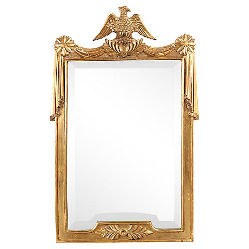 1930s Federal-Style Eagle Mirror