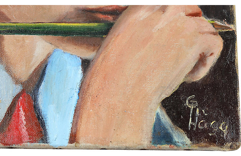 S/3 Gallery Wall Art by G. Hogg, 1944