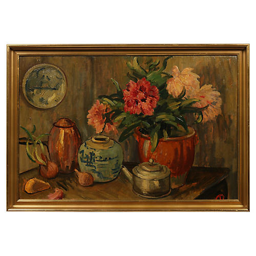 Danish Still Life Kitchen Scene