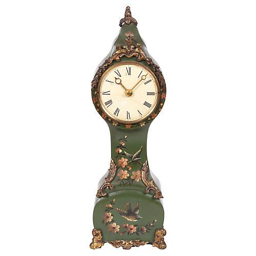 Miniature Hand-Painted Dutch Clock