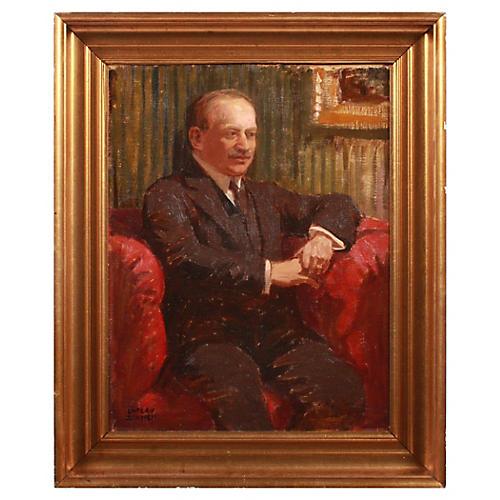 Luplau Janssen Portrait of a Man