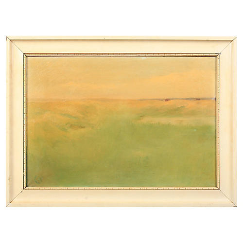 Abstract Grassy Landscape