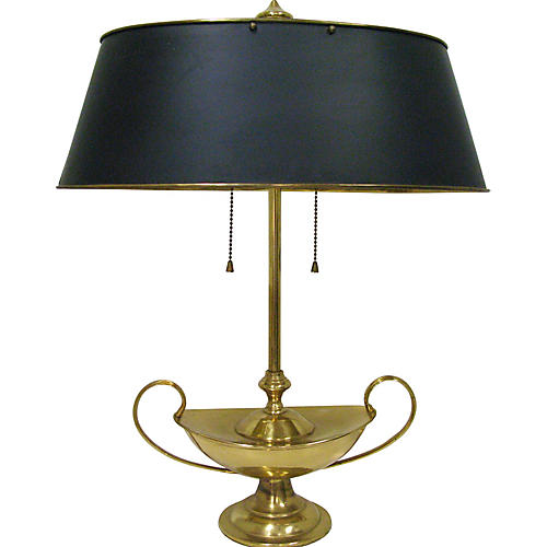 1960s Bouillote Table Lamp