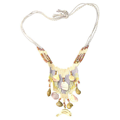 Woven South American Necklace
