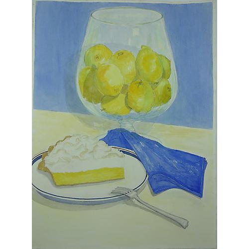 Lemon Merengue Pie by Betty Johnson