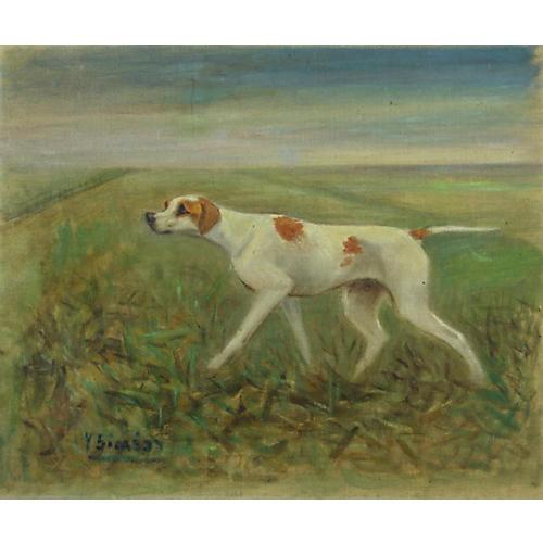 Parisian Hunting Dog