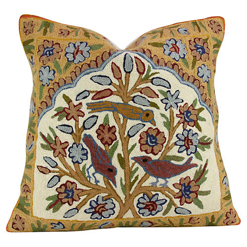 Leela Gulmarg Aari Pillow