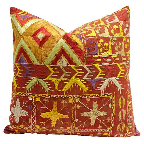 Bagh Phulkari Pillow