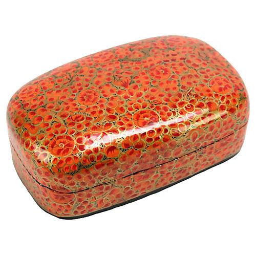 Ravi Kashmiri Hand-Painted Box