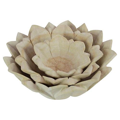 Sandstone Bowls, S/3