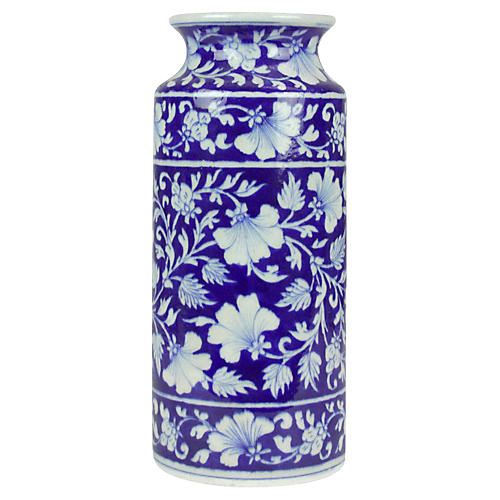 Royal Blue Jaipur Vase