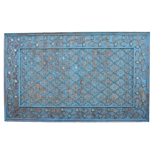 Anglo Indian Brass Ceiling Panel