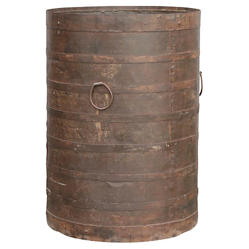 Iron Grain Barrel