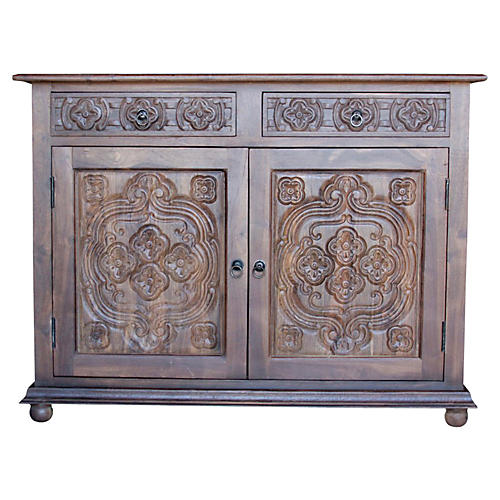 Carved Quinta Buffet Cabinet