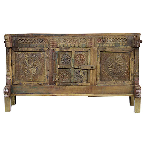 Antique Tribal Chakra Cabinet
