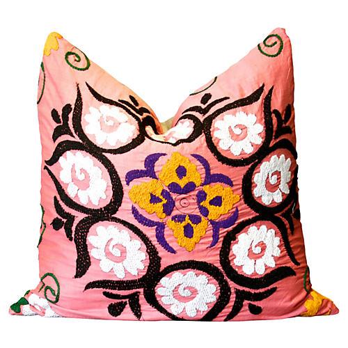 Dalia Suzani Pillow