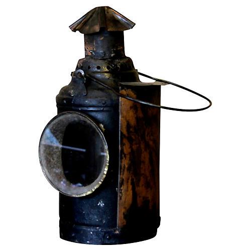 Iron Railway Lantern