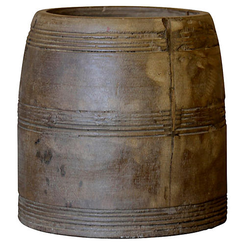 Tribal Rice Container