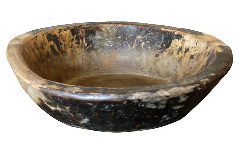 Wood Masala Bowl