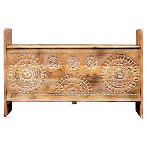 Swat Carved Sunflower Trunk