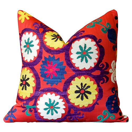 Raat Antique Suzani Pillow